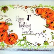 gel drawing pumpkins