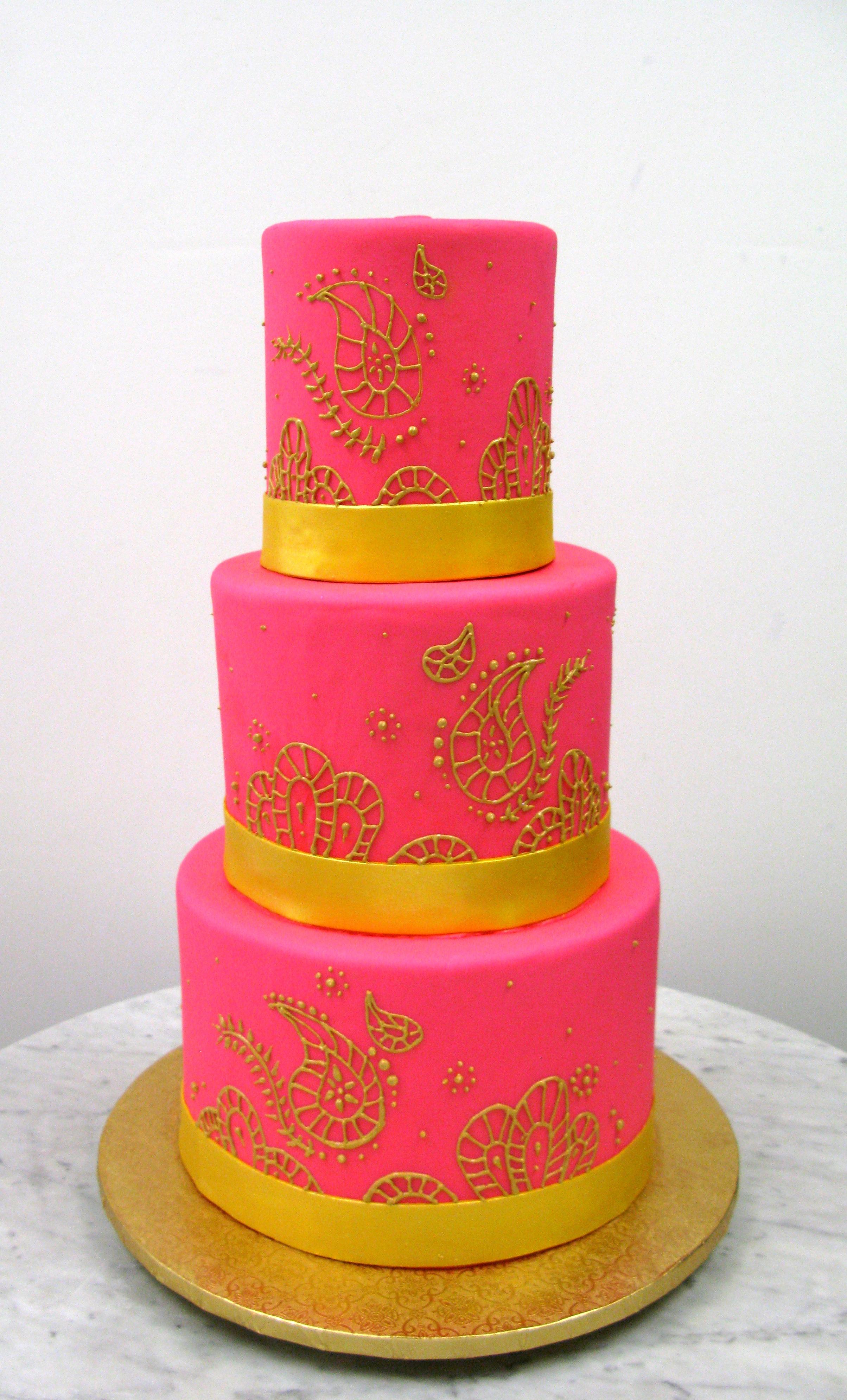 Hot Pink & Paisley
