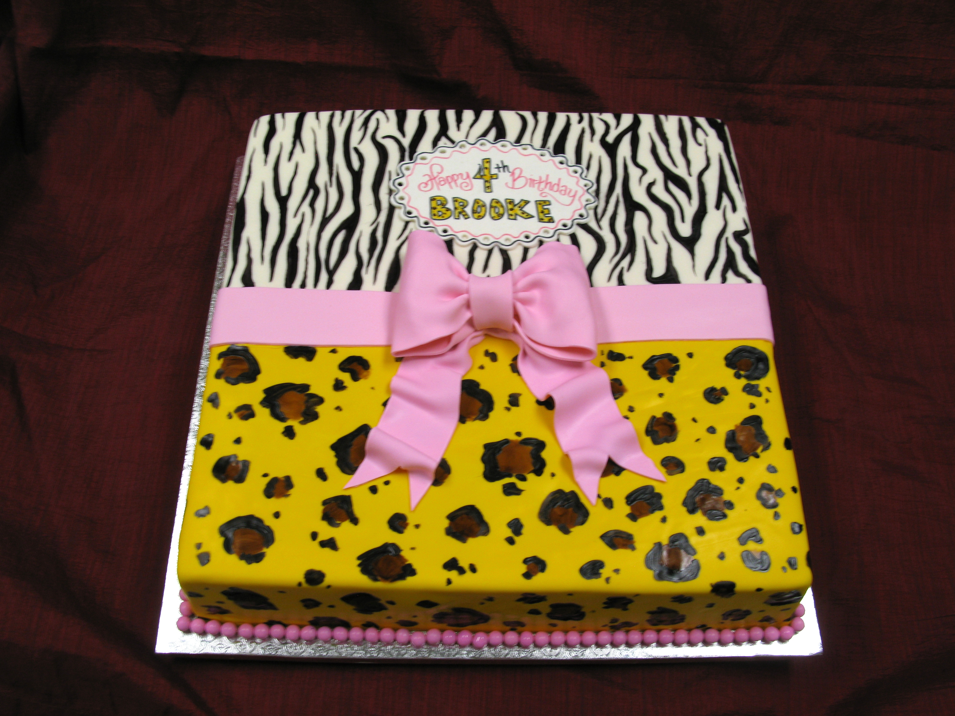 Wild Sheet Cake