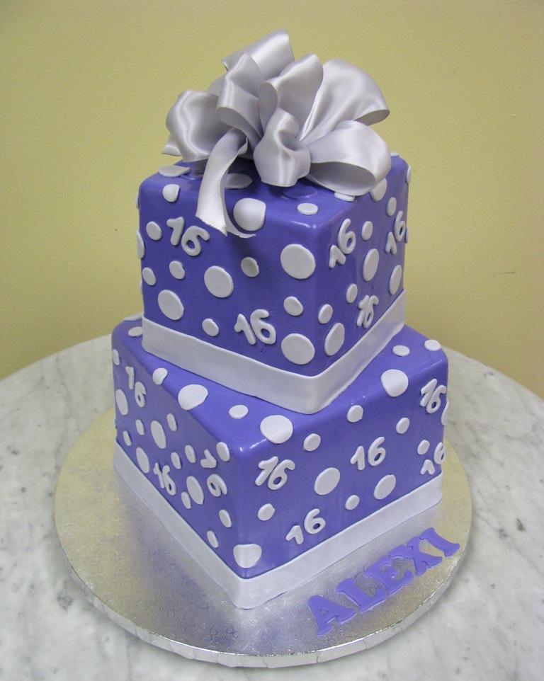 Purple Giftboxes