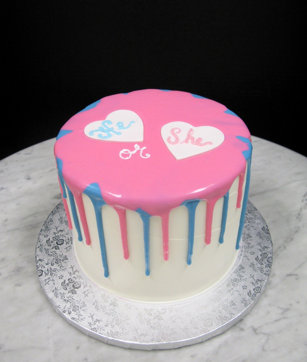 Pink And Blue Drip Mother Mousse
