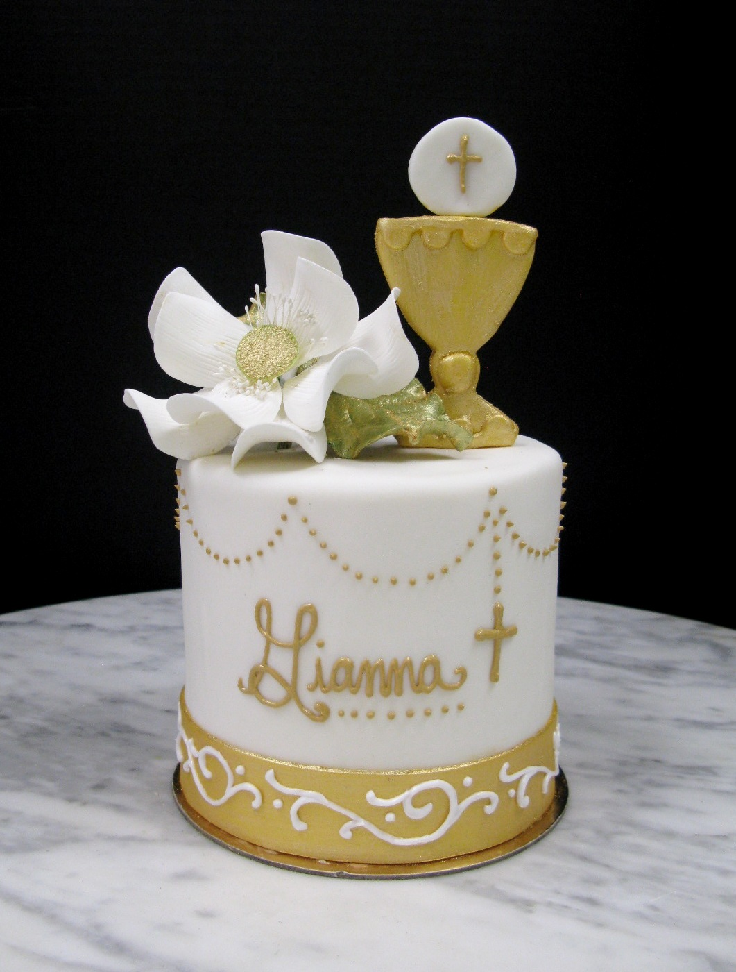 Communion Chalice Topper