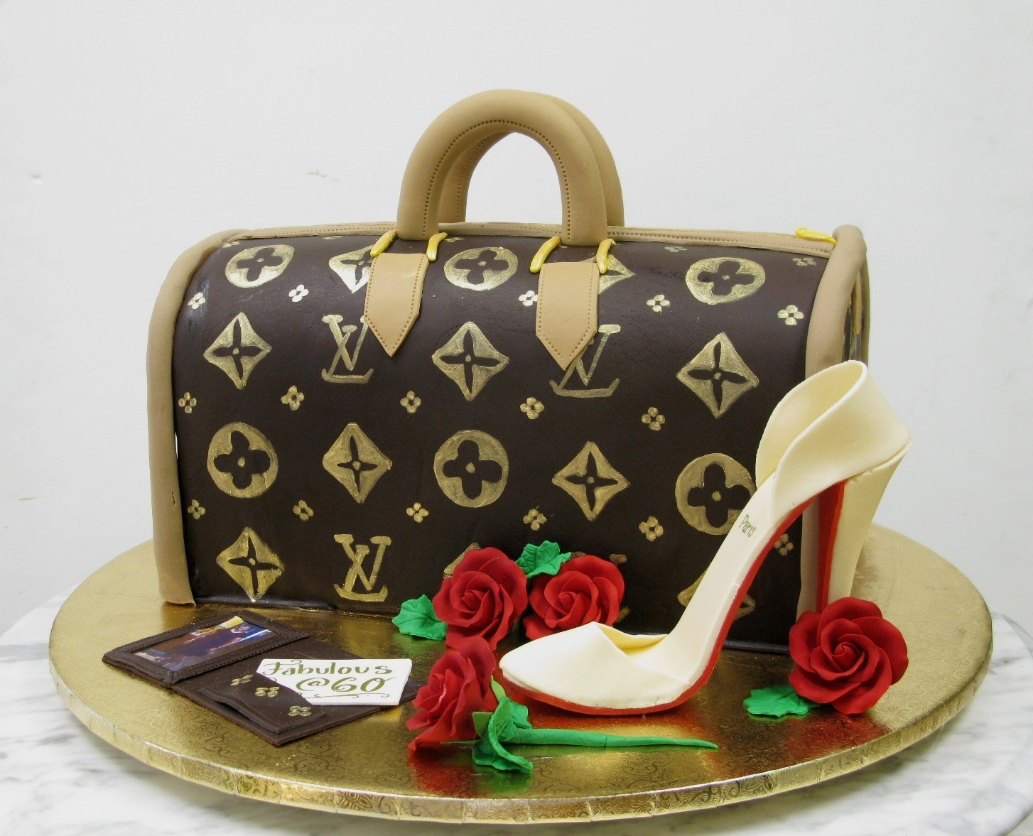 Louis Vuitton With High Heel Mother Mousse