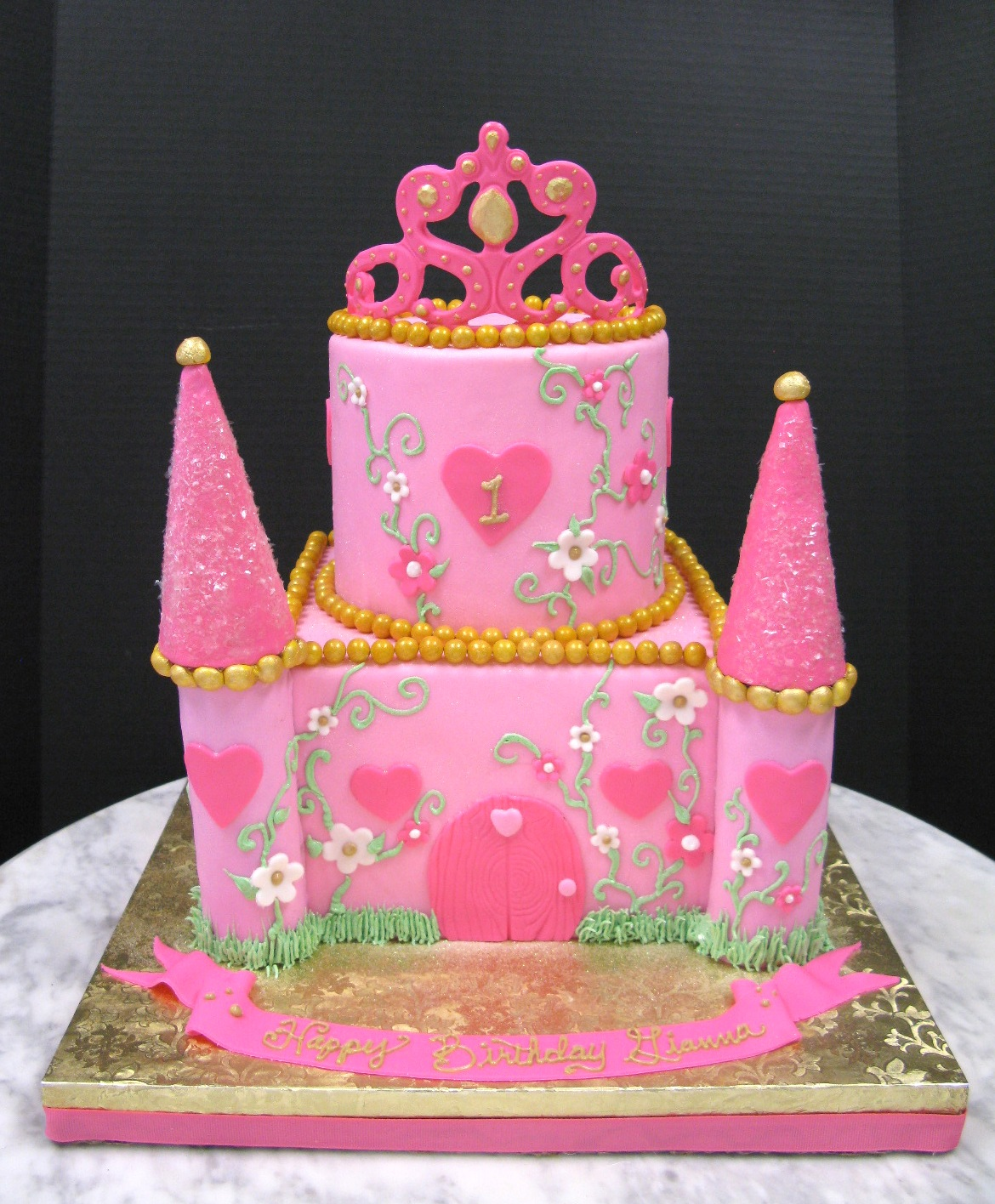 Pink Princess Castle
