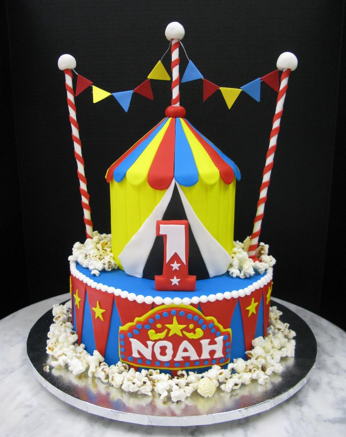 Circus Tent Surprise