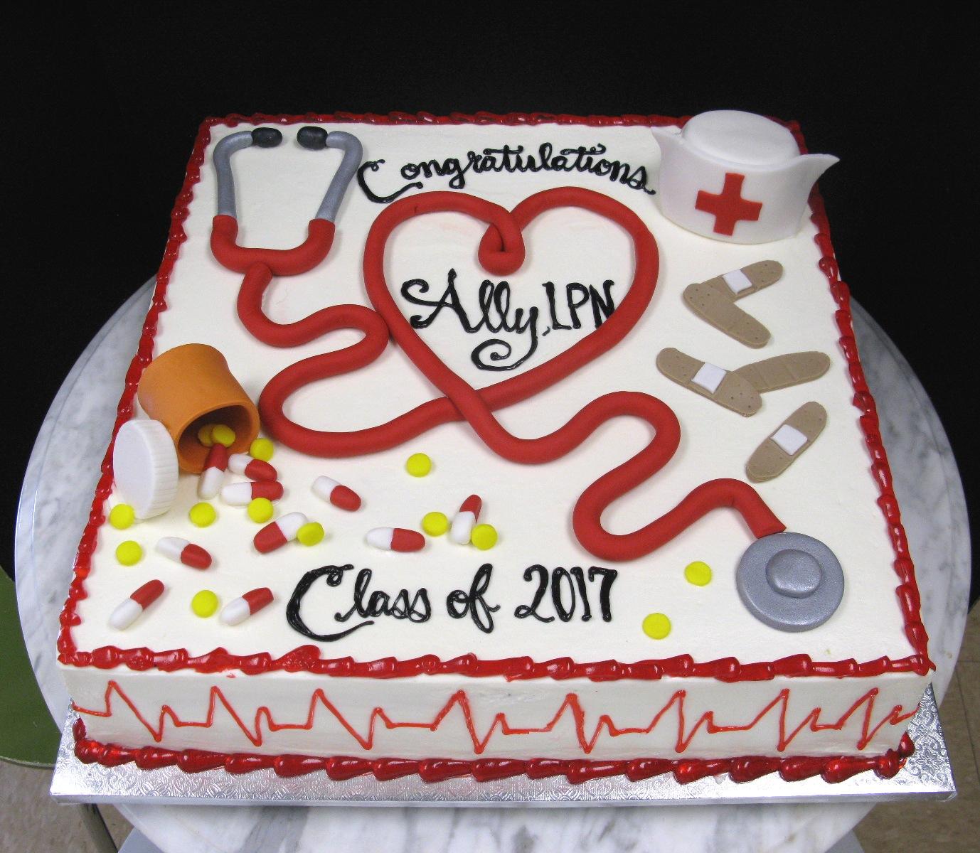 Nursing Sheet Cake