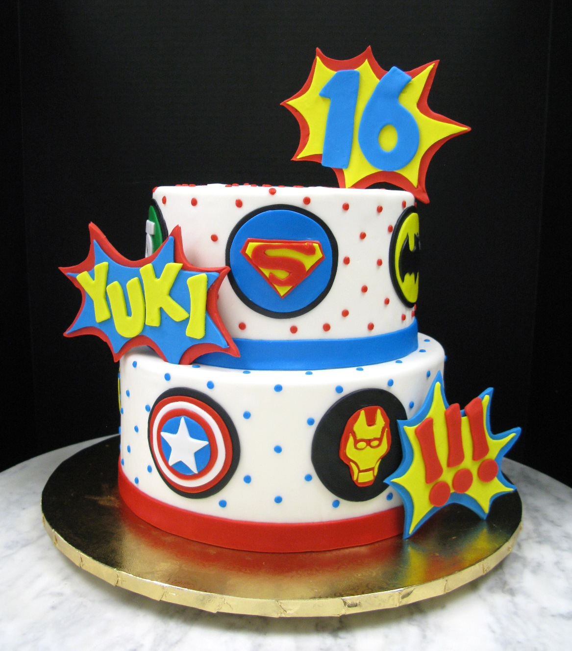 Superhero Sweet 16