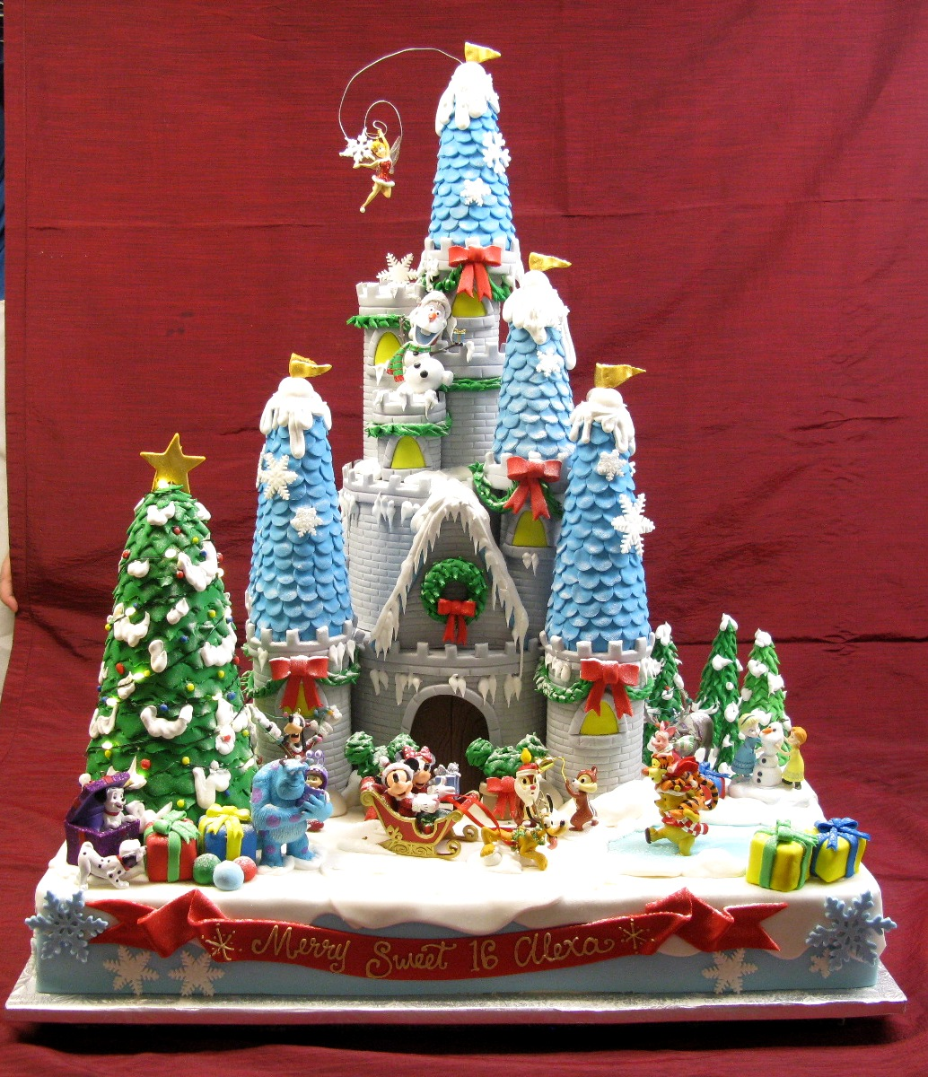 Disney Christmas Castle
