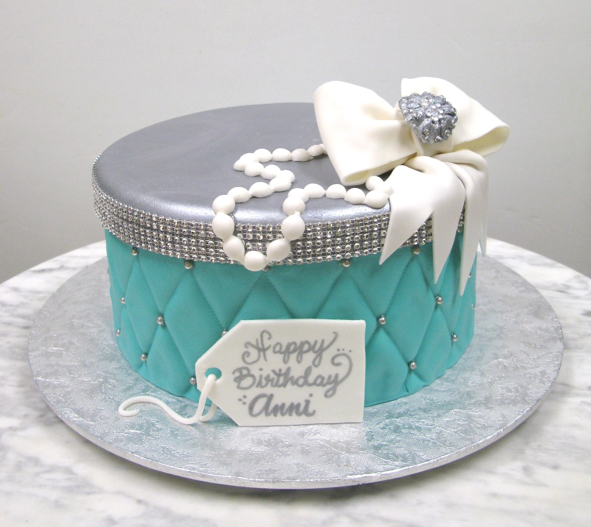 Quilted Tiffany Box