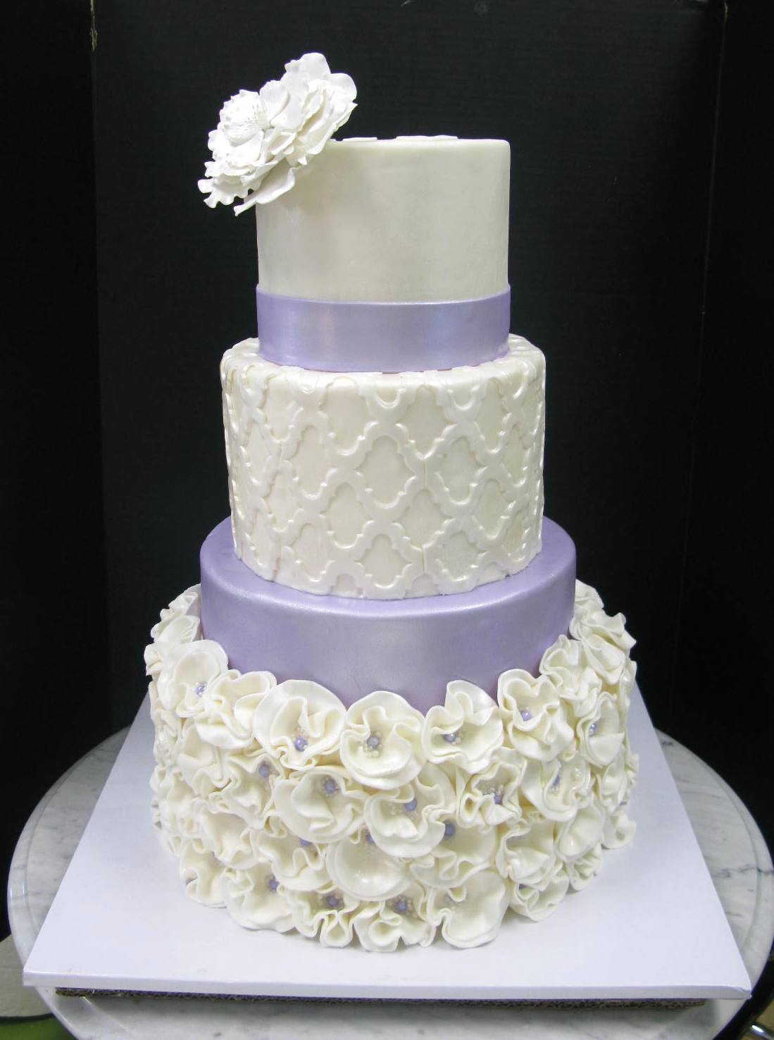 Lovely Lavender 4-Tier