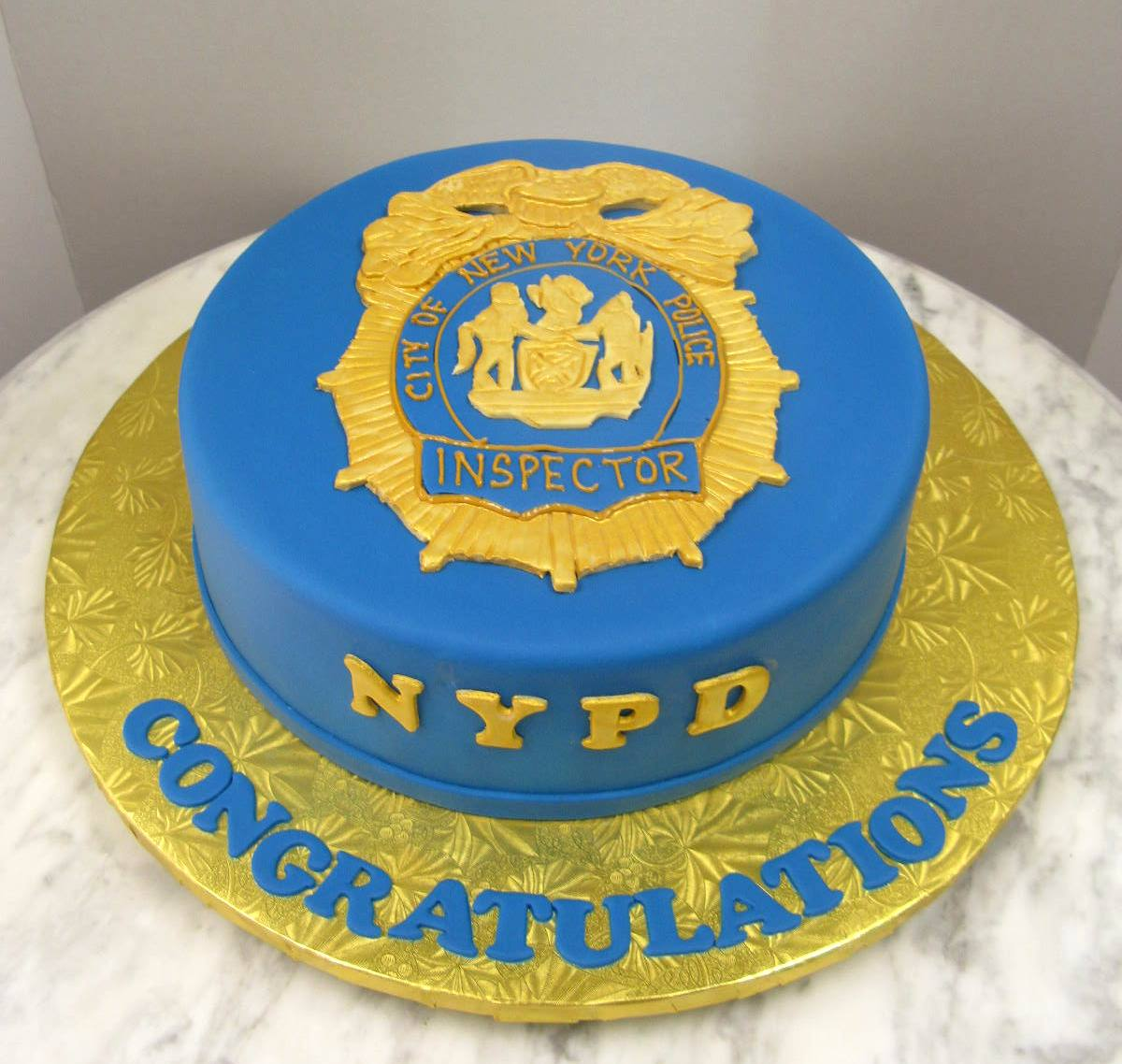 NYPD Inspector