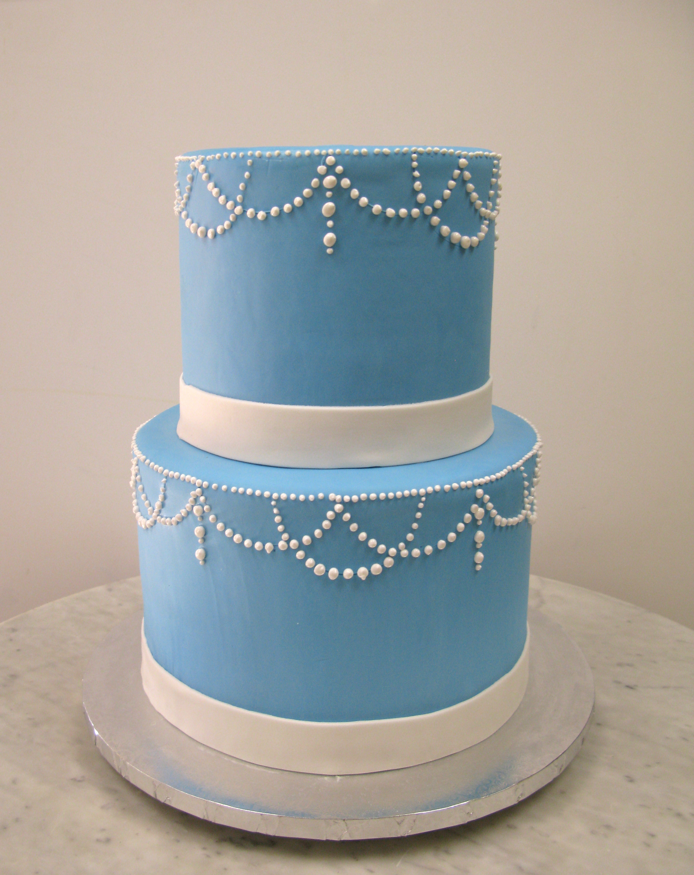 Blue & Pearls