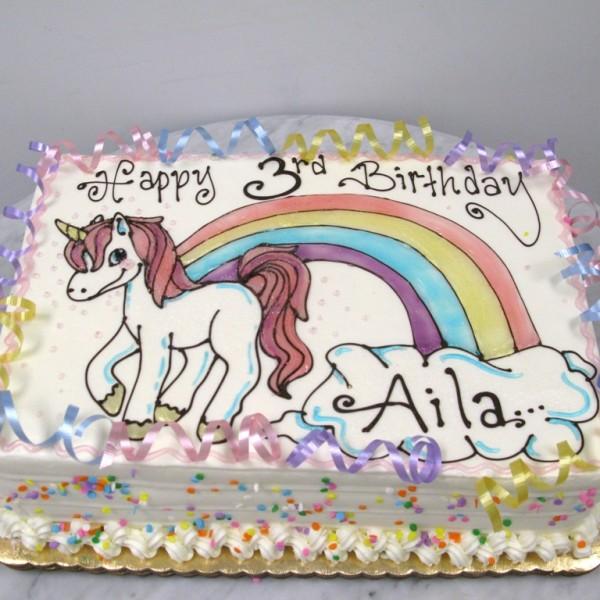 unicorn gel drawing