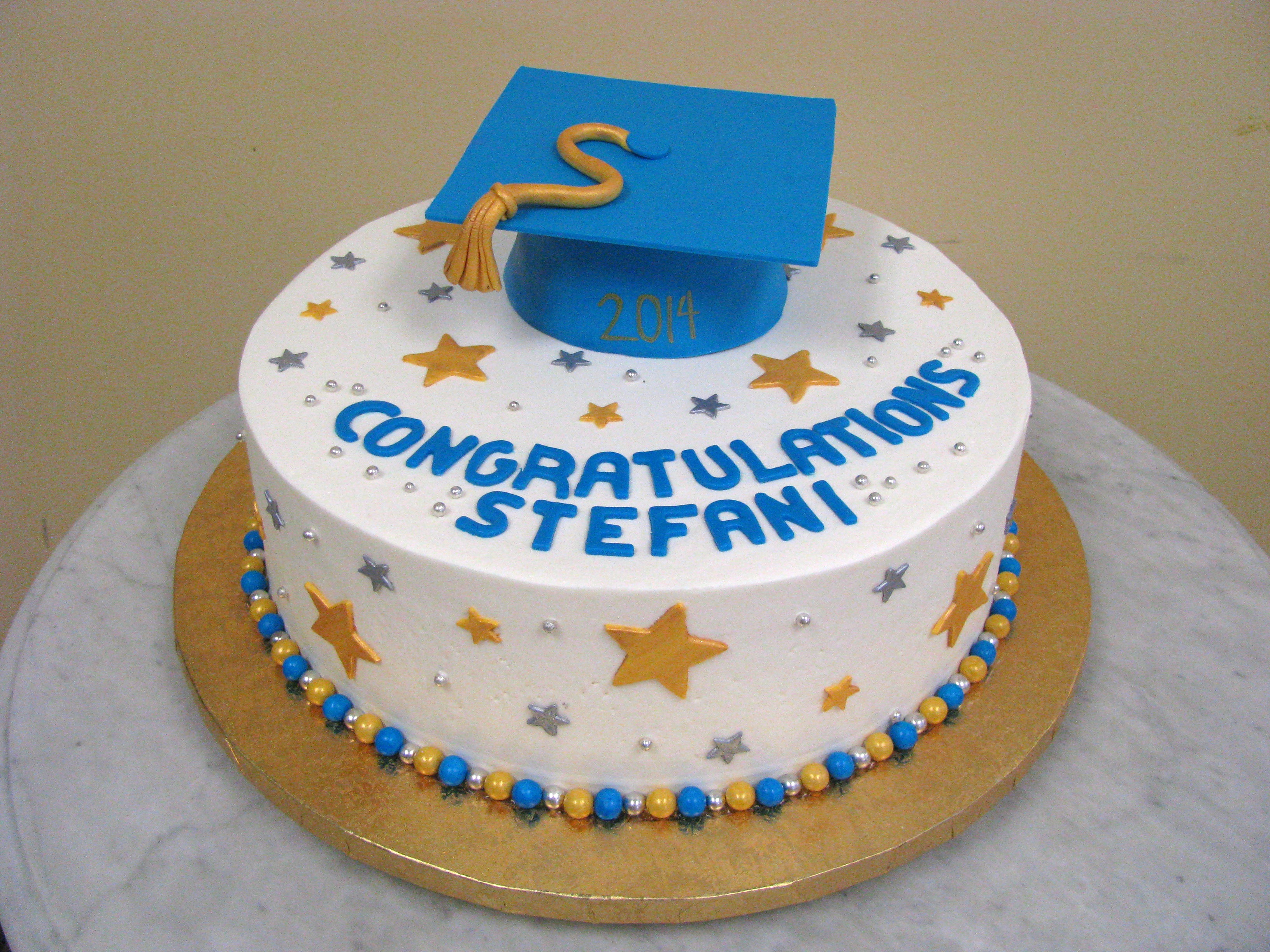 Blue and Gold Graduate
