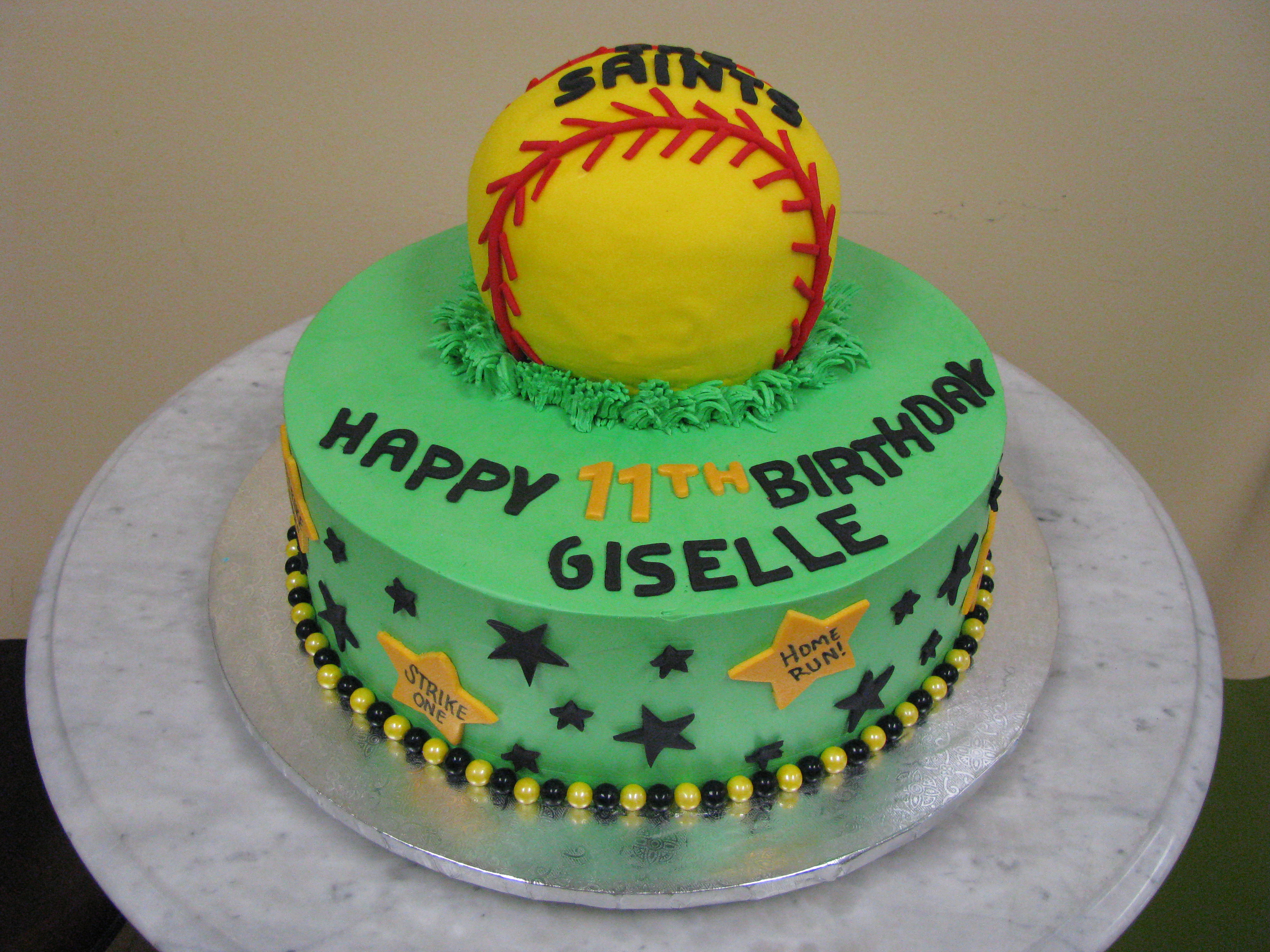 Softball Birthday