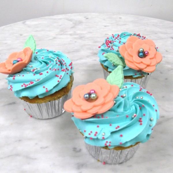 Custom cakes like this are typically around $3.00 a cupcake