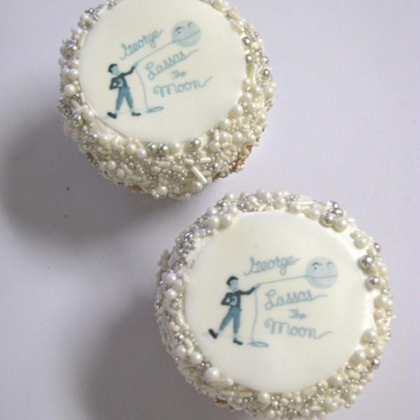We can make edible image cupcakes for $3.00 a cupcake