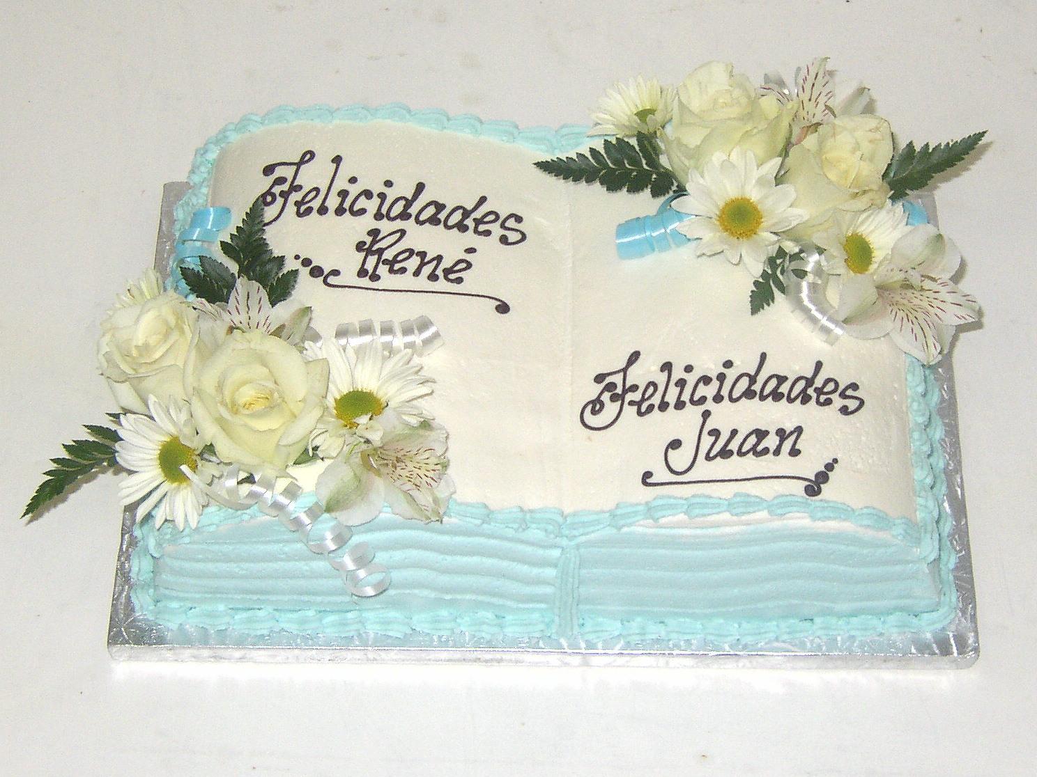Bible Sheet Cake