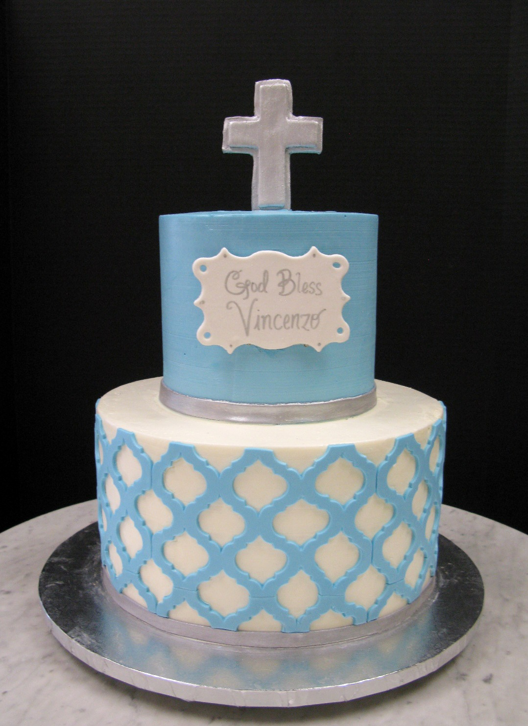 Patterned Christening