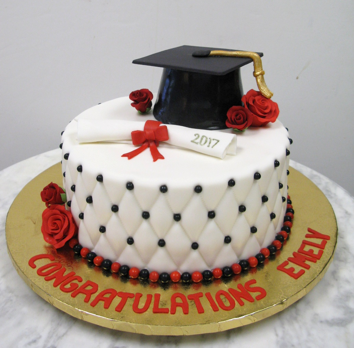Quilted Graduation Mother Mousse