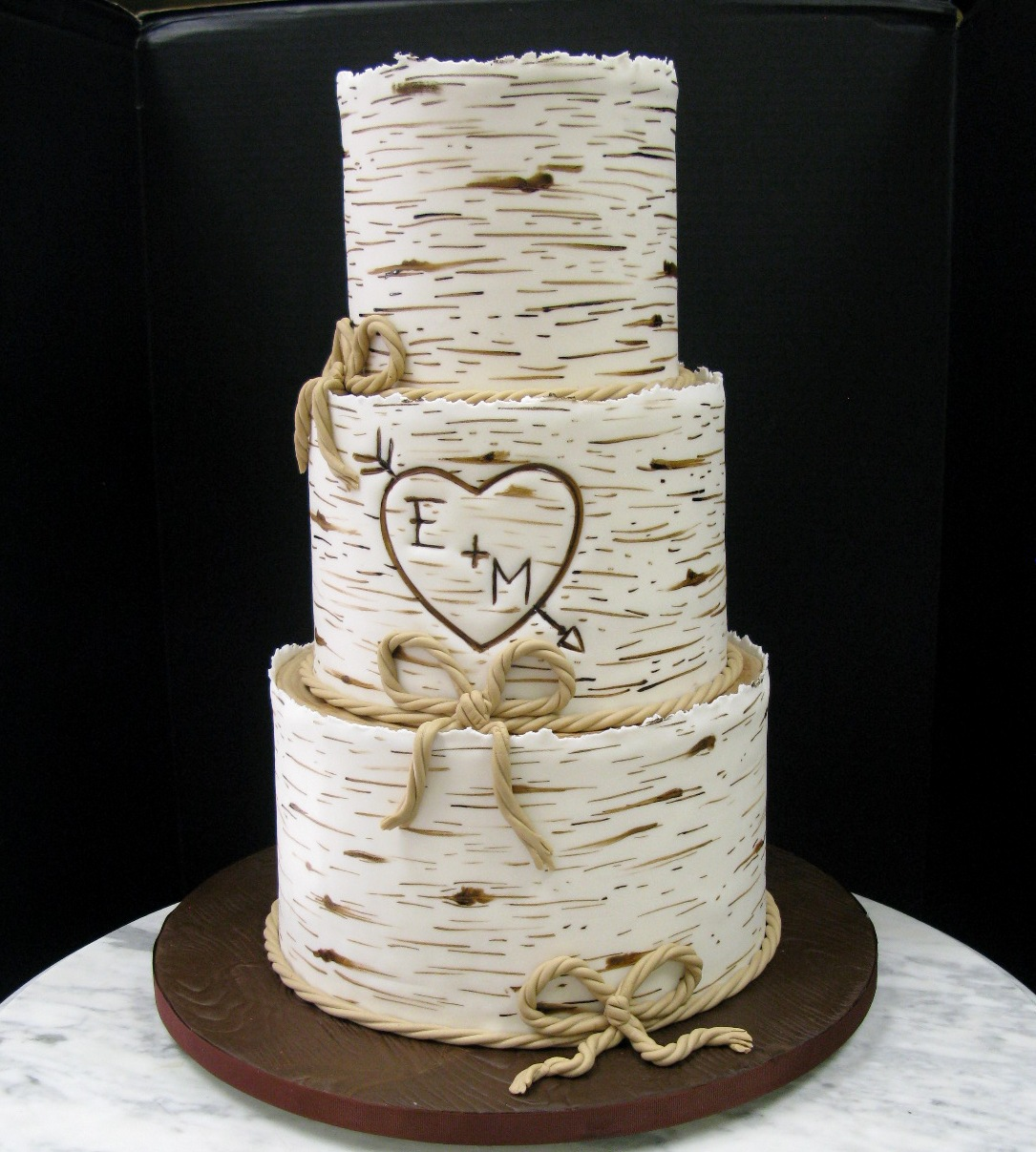images of wedding cake tree birch tree wedding mousse 16382