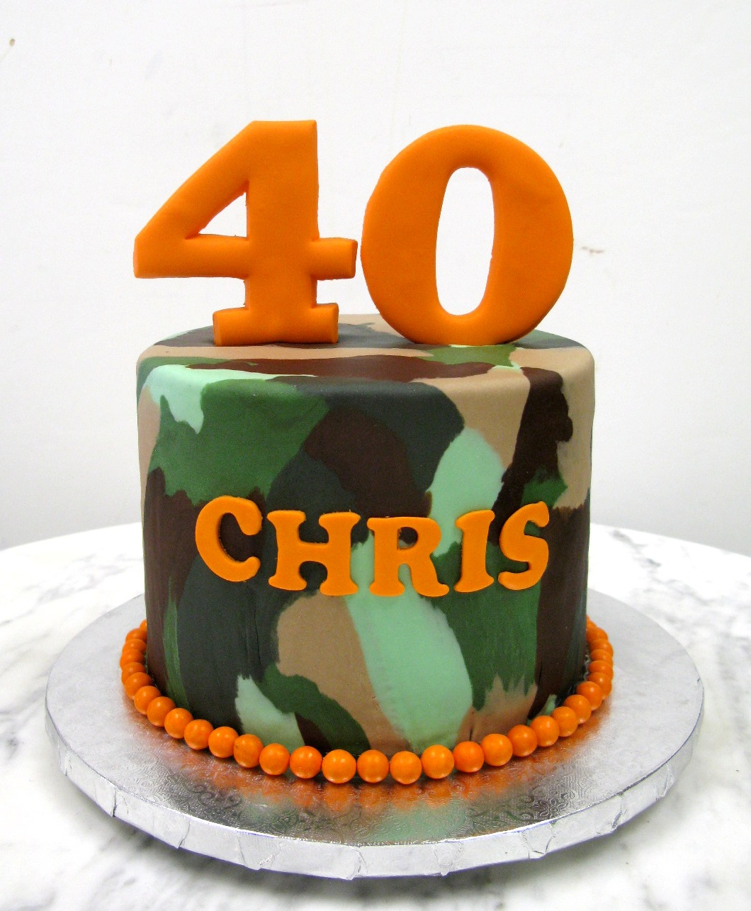 Camouflage Cake Mother Mousse