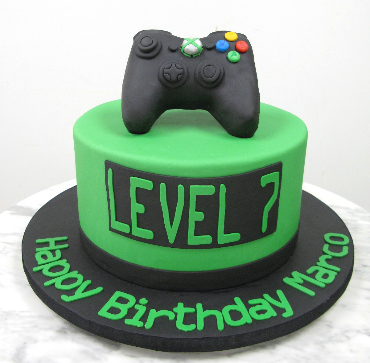 Video Game Controller Birthday Cakes