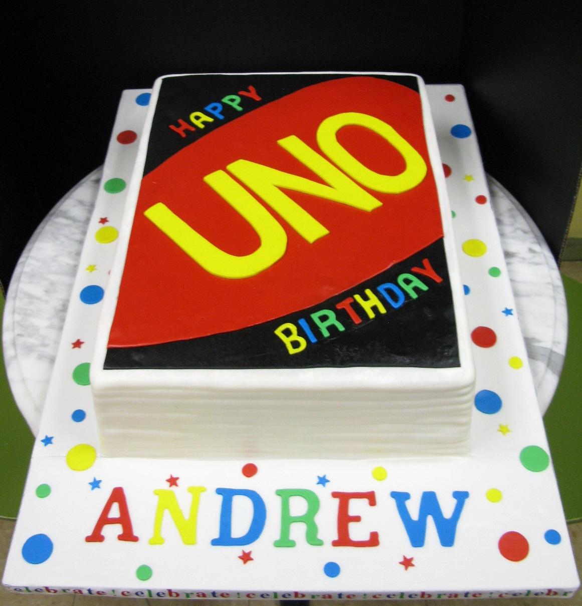 Happy Uno Birthday